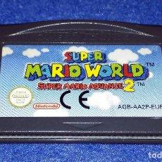 Videojuegos y Consolas: NINTENDO GAME BOY ADVANCE - SUPER MARIO WORLD SUPER MARIO ADVANCE 2. Lote 115751643