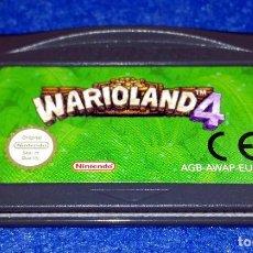 Videojuegos y Consolas: NINTENDO GAME BOY ADVANCE - WARIO LAND 4. Lote 115751655