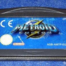 Videojuegos y Consolas: NINTENDO GAME BOY ADVANCE - METROID FUSION. Lote 115751683