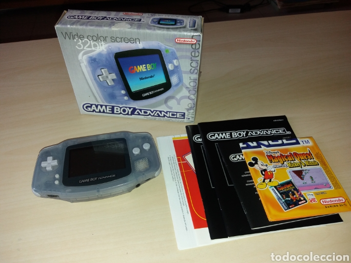 NINTENDO GAMEBOY ADVANCE (Juguetes - Videojuegos y Consolas - Nintendo - GameBoy Advance)