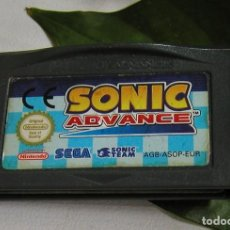 Videojuegos y Consolas: JUEGO CONSOLA SONIC GAMEBOY GAME BOY ADVANCE SEGA ORIGINAL NINTENDO MADE IN JAPAN SOLO CARTUCHO. Lote 116948931