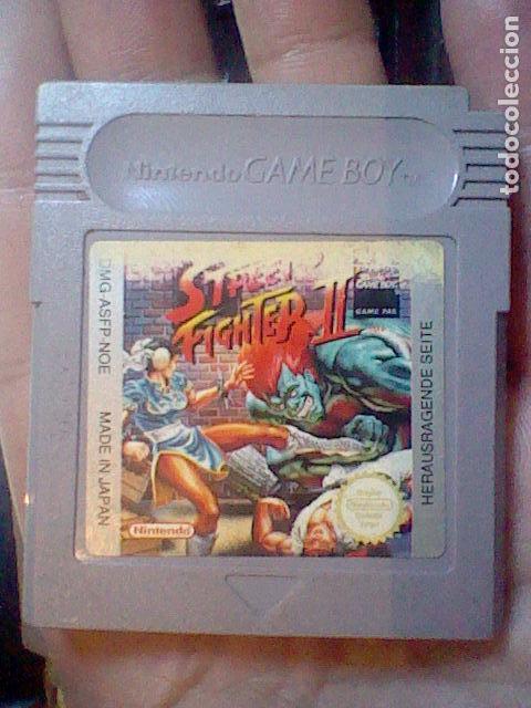 STREET FIGHTER II NINTENDO GAME BOY GB CARTUCHO FUNCIONANDO DMG ASFP NOE (Juguetes - Videojuegos y Consolas - Nintendo - GameBoy Advance)
