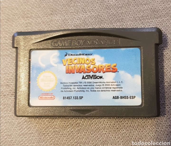 JUEGO NINTENDO GAMEBOY ADVANCE VECINOS INVASORES ACTIVISION (Juguetes - Videojuegos y Consolas - Nintendo - GameBoy Advance)