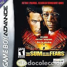 Videojuegos y Consolas: THE SUM OF ALL FEARS GAME BOY ADVANCE. Lote 120714811