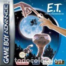 Videojuegos y Consolas: E.T. EL EXTRATERRESTRE (GAME BOY ADVANCE). Lote 120716147