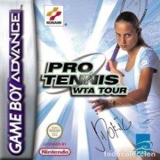 Videojuegos y Consolas: PRO TENNIS WTA TOUR (GAME BOY ADVANCE). Lote 120719635
