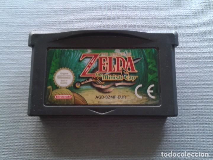 Juego Game Boy Advance Gba Zelda Minish Cap Solo Cartucho Pal Eur R7499