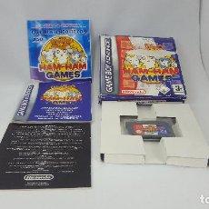 Videojuegos y Consolas: JUEGO GAMEBOY ADVANCE - HAM HAM GAMES. Lote 121525455