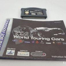 Videojuegos y Consolas: JUEGO GAMEBOY ADVANCE - TOCA WORLD TOURING CARS. Lote 121526967