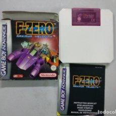 Videojuegos y Consolas: F-ZERO FZERO - GAMEBOY - GBA - GAME BOY ADVANCE - PAL ESPAÑA. Lote 121594707