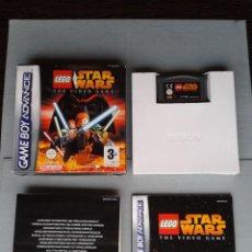 Videojuegos y Consolas: JUEGO GAME BOY ADVANCE GBA LEGO STAR WARS COMPLETO CON MANUAL BOXED CIB PAL R7542. Lote 121708179