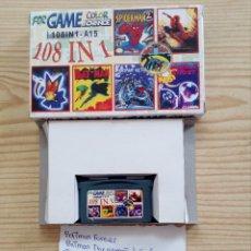 Videojuegos y Consolas: JUEGO GAME BOY ADVANCE 108 EN 1 - BATMAN FOREVER+BATMAN THE ANIMATED SERIES+THE AMAZING SPIDERMAN+BU. Lote 121877047