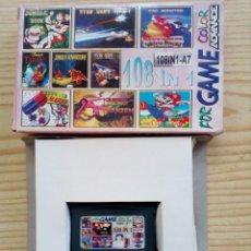 Videojuegos y Consolas: JUEGO GAME BOY ADVANCE 108 EN 1 - CONTRA+CONTRA 2+SUPER MARIO 4+BUGS BUNNY+DR MARIO. Lote 121877191