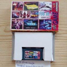 Videojuegos y Consolas: JUEGO GAME BOY ADVANCE 108 EN 1 - F15 STRIKE EAGLE+FERRARI GRAND PRIX+HUGO 2+FIRE DRAGON+VOLLEY FIRE. Lote 121877855