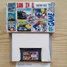 Videojuegos y Consolas: JUEGO GAME BOY ADVANCE 108 EN 1 - JUNGLE STRIKE+STAR WARS+PACK-MAN+DR MARIO. Lote 121878015