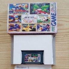 Videojuegos y Consolas: JUEGO GAME BOY ADVANCE 108 EN 1 - ROCKMAN 3+TWIN BEE+BOULDER DASH+BOMB JACK. Lote 121878191