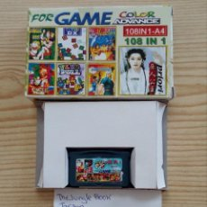 Videojuegos y Consolas: JUEGO GAME BOY ADVANCE 108 EN 1 - THE JUNGLE BOOK+TARZAN+TAZ-MANIA 2+PRI PRI+WORLD BOWLING. Lote 121878647