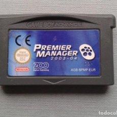 Jeux Vidéo et Consoles: NINTENDO GAME BOY ADVANCE GBA PREMIER MANAGER 2003 2004 SOLO CARTUCHO PAL! R7578. Lote 124014843
