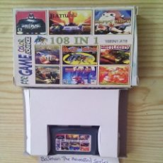 Videojuegos y Consolas: JUEGO GAME BOY ADVANCE 108 EN 1 - BATMAN THE ANIMATED SERIES+SPY VS SPY+STAR WARS+DUCK TALES+VOLLEY. Lote 124463659
