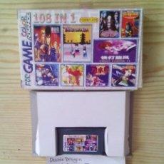 Videojuegos y Consolas: JUEGO GAME BOY ADVANCE 108 EN 1 - DOUBLE DRAGON+DOUBLE DRAGON II+DOUBLE DRAGON III+CASTLEVANIA ADVEN. Lote 124463807