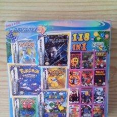 Videojuegos y Consolas: JUEGO GAME BOY ADVANCE 118 EN 1 - 118 JUEGOS REALES - COMPATIBLE NINTENDO DS LITE. Lote 232450610