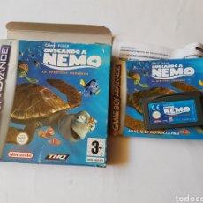 Videojuegos y Consolas: BUSCANDO A NEMO GAMEBOY ADVANCE. Lote 125762862