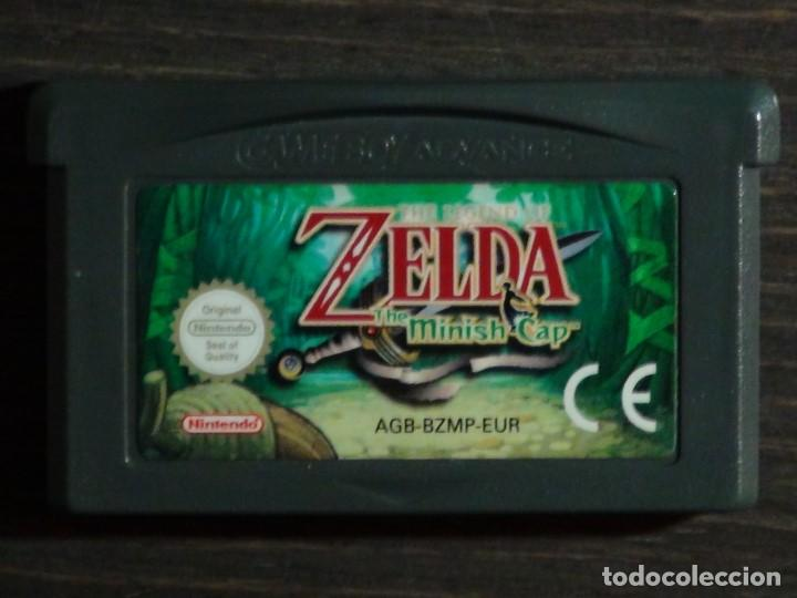 Juego Zelda The Minish Cap Nintendo Gameboy Advance Game Boy