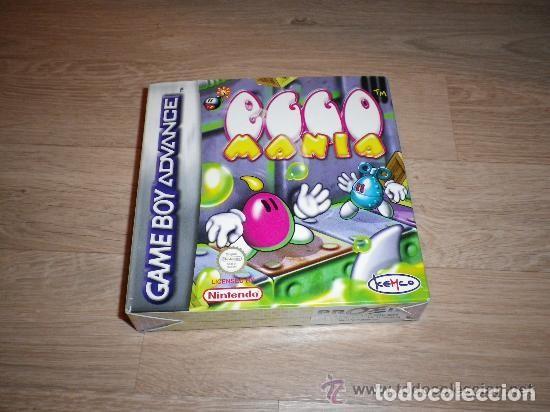 NINTENDO GBA JUEGO EGGO MANIA COMPLETO (Juguetes - Videojuegos y Consolas - Nintendo - GameBoy Advance)