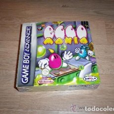 Videojuegos y Consolas: NINTENDO GBA JUEGO EGGO MANIA COMPLETO. Lote 128487975