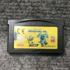 Videojuegos y Consolas: MONSTERS INC NINTENDO GAME BOY ADVANCE. Lote 128502215