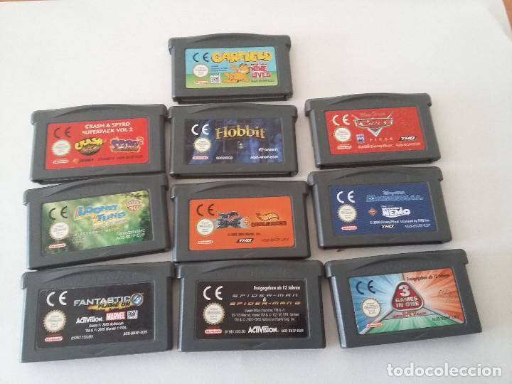 08 00206 Pack 10 Juegos Nintendo Game Boy Adva Comprar