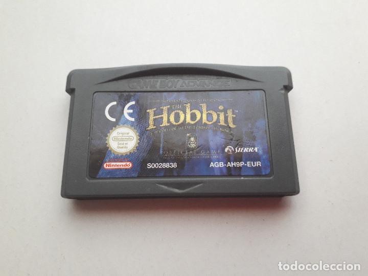 Videojuegos y Consolas: 08-00211 NINTENDO GAME BOY ADVANCE - THE HOBBIT - Foto 2 - 129025603