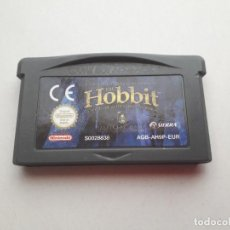 Videojuegos y Consolas: 08-00211 NINTENDO GAME BOY ADVANCE - THE HOBBIT. Lote 129025603