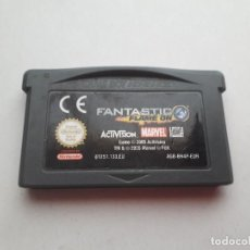 Videojuegos y Consolas: 08-00215 NINTENDO GAME BOY ADVANCE - LOS 4 FANTASTICOS -FLAME ON. Lote 129025891