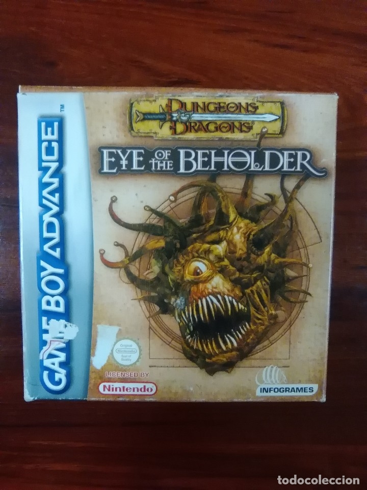 dungeons and dragons eye of the beholder gba