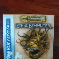 Videojuegos y Consolas: DUNGEONS & DRAGONS - EYE OF THE BEHOLDER - GAMEBOY ADVANCE - GBA - NUEVO. Lote 62142176
