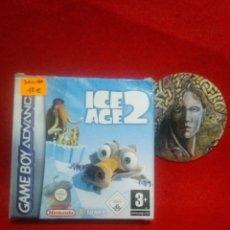 Videojuegos y Consolas: CAJA VACIA - ICE AGE 2 - GAME BOY ADVANCE ... SIN INSTRUCCIONES - BUEN ESTADO.. Lote 130123911