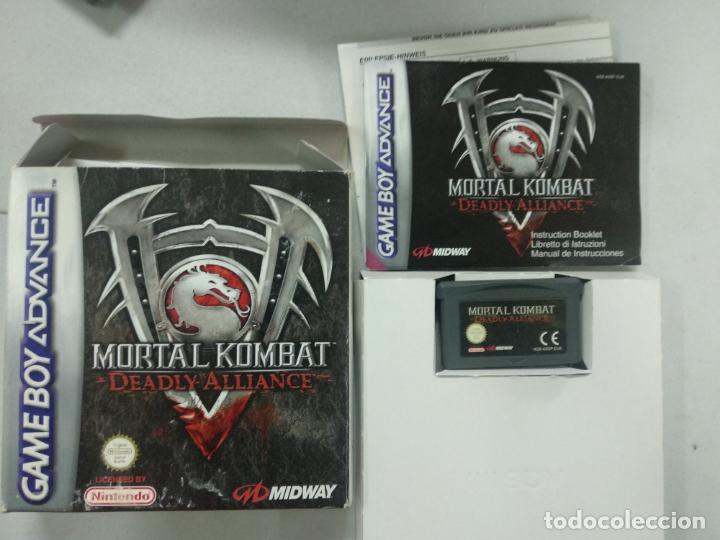 Mortal kombat deadly alliance - completo - gba - Vendido en