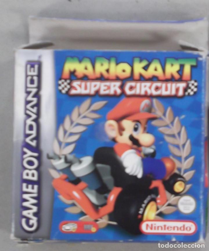 Caja Vacia Juego Game Boy Advance Mario Kart Su Kaufen Videospiele
