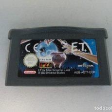 Videojuegos y Consolas: JUEGO GAME BOY ADVANCE. E.T.. Lote 131499402