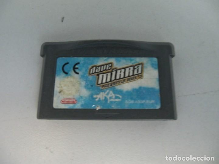 JUEGO GAME BOY ADVANCE. DAVE MIRRA (Juguetes - Videojuegos y Consolas - Nintendo - GameBoy Advance)