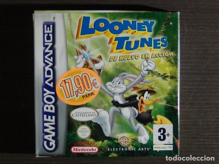 GAMEBOY ADVANCE LLOONEY TUNES (Juguetes - Videojuegos y Consolas - Nintendo - GameBoy Advance)