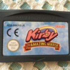 Videojuegos y Consolas: KIRBY Y EL LABERINTO DE LOS ESPEJOS THE AMAZING MIRROR GBA GAMEBOY ADVANCE GAME BOY SP KREATEN. Lote 190793852