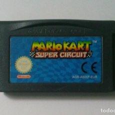 Videojuegos y Consolas: MARIO KART SUPER CIRCUIT NINTENDO GAME BOY ADVANCE. Lote 134004270