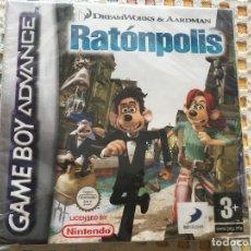 Videojuegos y Consolas: FLUSHED AWAY RATONPOLIS NUEVO GAME BOY ADVANCE SP CARTUCHO JUEGO KREATEN. Lote 134125018