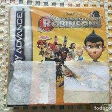 Videojuegos y Consolas: DESCUBRIENDO A LOS ROBINSONS ROBINSON NUEVO GAME BOY ADVANCE SP CARTUCHO JUEGO KREATEN. Lote 134125054