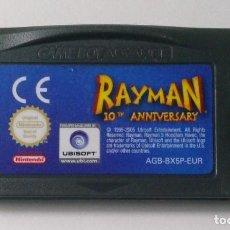 Videojuegos y Consolas: RAYMAN 10TH ANNIVERSARY - NINTENDO GAME BOY ADVANCE. Lote 134820582