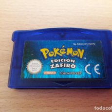 Videojuegos y Consolas: 08-00291 GAME BOY ADVANCE - POKEMON EDICION ZAFIRO. Lote 196121482
