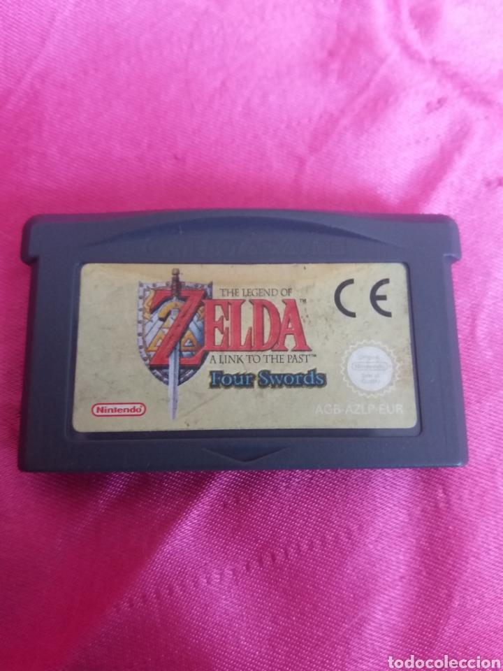 The Legend of Zelda A Link to the Past Four Swords segunda mano