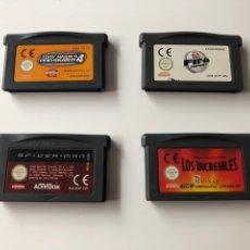 Videojuegos y Consolas: LOTE JUEGOS GAMEBOY ADVANCE, NINTENDO. Lote 136104033